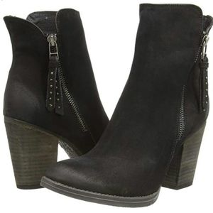 Steve Madden Ryatt leather booties US 7.5